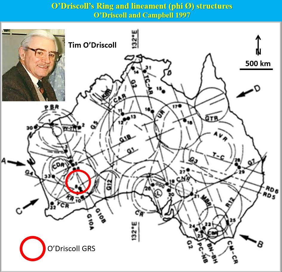 O'Driscoll GRS in Australia